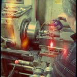 Mr Markl using lathe2